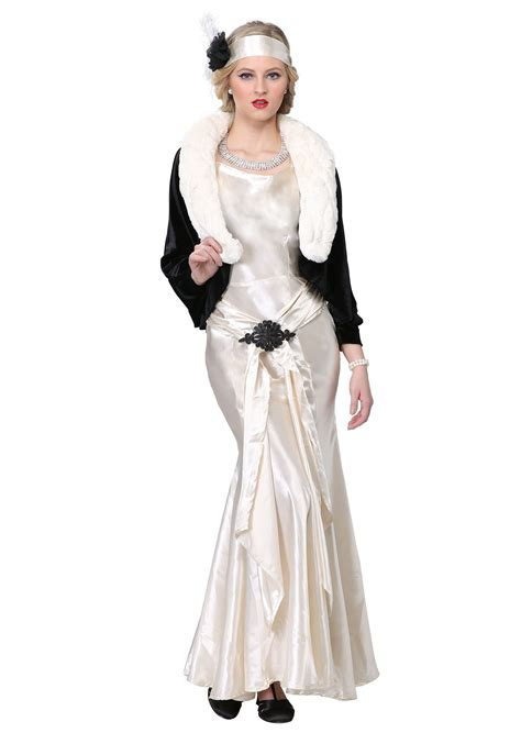 plus size flapper costume 1920s costumes 20s halloween 1920s socialite plus size costume for women