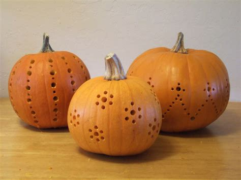 drill pumpkin templates pumpkins carved with a drill crafty nest