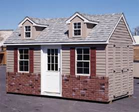 brick shed plans build  storage building   step