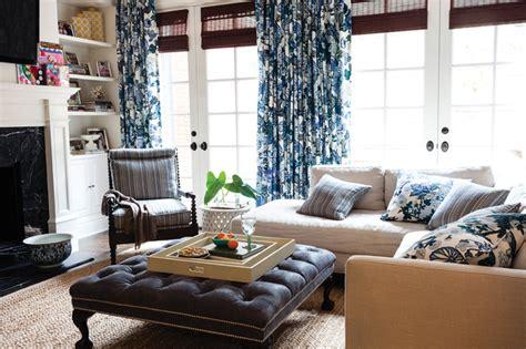 chiang mai china blue transitional living room