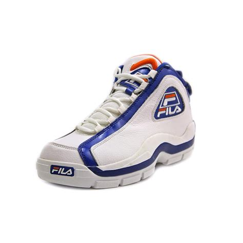 basketball shoe display fila 96 leather basketball shoe new display ebay