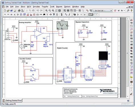 multisim ultiboard circuit design suite power pro 12 0 11