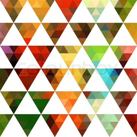 triangle pattern hipster geometric pattern of triangles shapes colorful mosaic