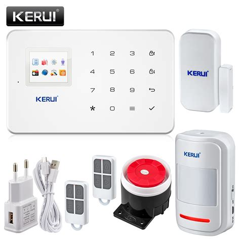original kerui g18 thin gsm alarm systems android