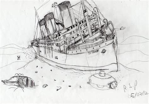 titanic underwater coloring pages titanic wreck raise the titanic by timelordparadox on