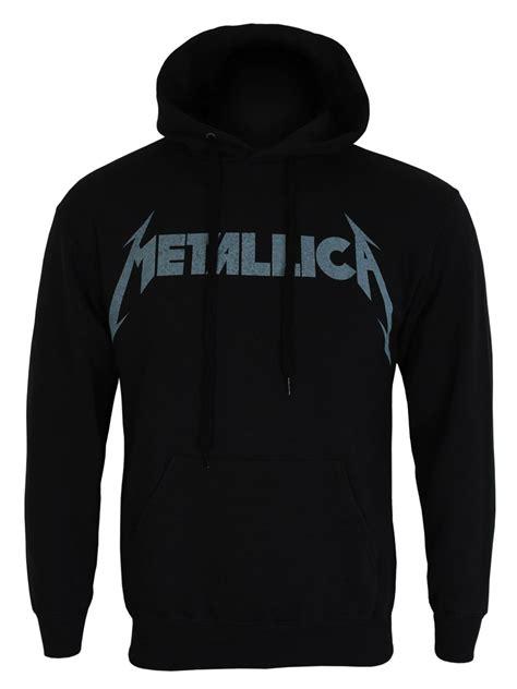 Jaket Hoodie Metallica Sweater Hoodies Metallica metallica kirk guitar s black hoodie buy at grindstore