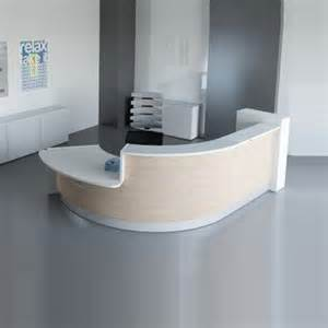 valencia curved reception desk 5