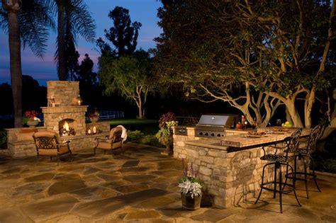 eldorado outdoor fireplace rustic outdoor kitchen and fireplace traditional patio san diego by eldorado