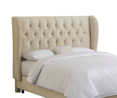 tufted headboard cheap buy skyline furniture velvet tufted queen wingback
