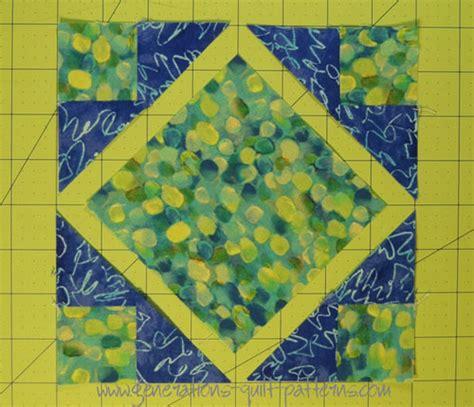 square quilt block tutorial in 4 sizes