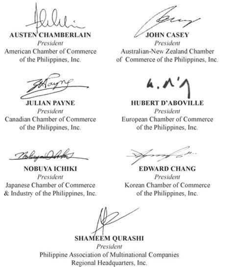 transmittal letter to president aquino arangkada philippines