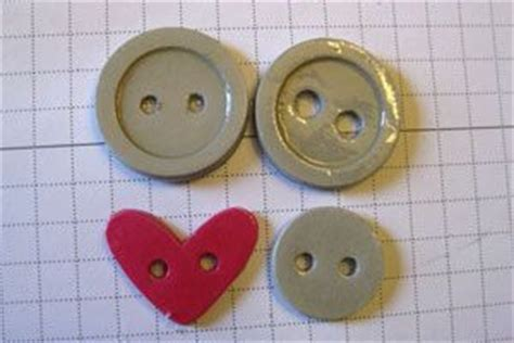 Make Your Own Paper Punch - diy paper buttons tutorial when you can t find the