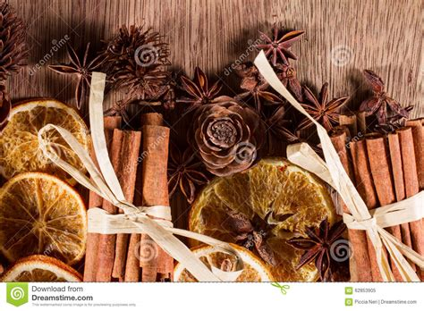 dry sticks decoration drone fly tours natural christmas decorations stock photo image 62853905
