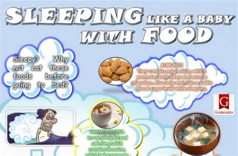 eating nuts before bed foodista infographic foods that will help you sleep