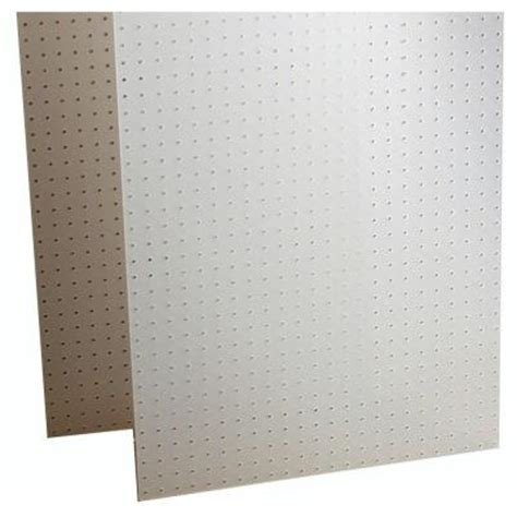 triton products duraboard 1 8 in white polypropylene
