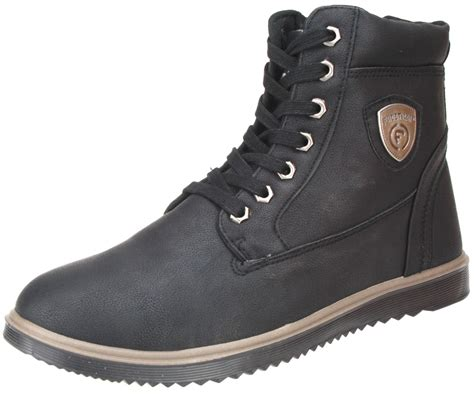 mens firetrap boots firetrap mens gents luca ankle height lace up casual brown