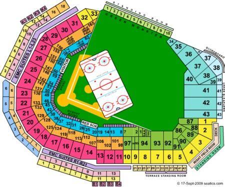 fenway park concert seating jason aldean fenway park tickets and fenway park seating charts 2017