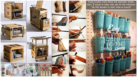 top  easy home decorating ideas   diy crafts