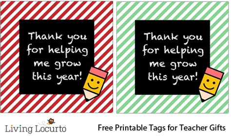 printable gift tags for teachers teacher appreciation flower gift idea