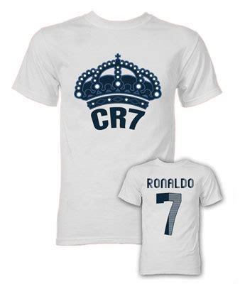 cristiano ronaldo cr7 real madrid t shirt white