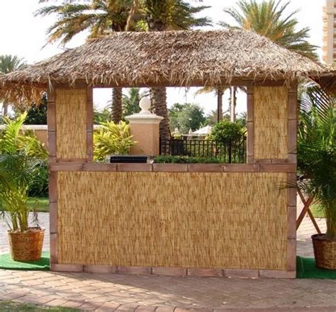 Thatch Bar Thatched Hut Bar Front Decor Rental Orlando