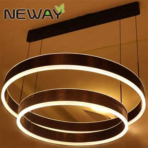 indirect pendant lighting led ring suspension direct indirect lighting pendant light