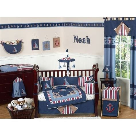 Nautical Crib Bedding For Boys 71 Best Images About Nautical Nursery On Pinterest Nautical Birthday Invitations Crib Sets