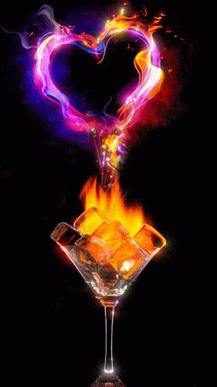imagenes de love con fuego gif coraz 243 n de fuego gif 5154