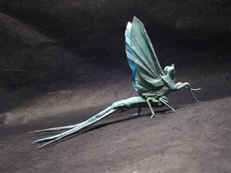 Insect Origami - mind boggling insects created out of one sheet of paper