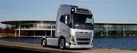 mclaren formula 1 volvo trucks becomes official supplier