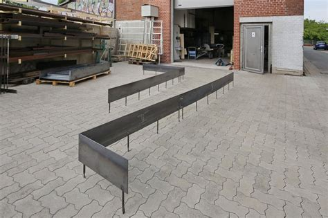 Stahlband Garten