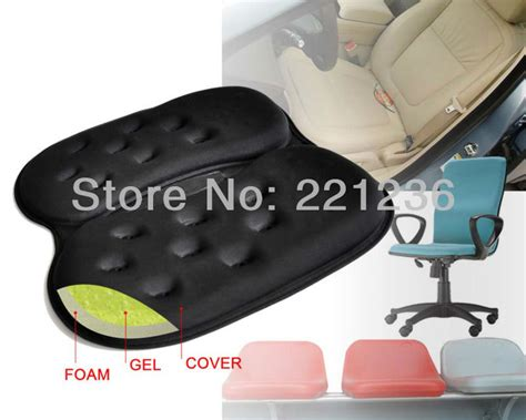 free shipping foldable portable gel car cushion gel foam