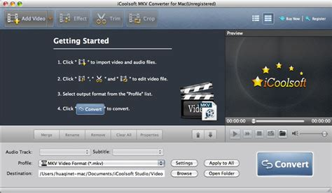 Mp4 Converter License Original For Mac icoolsoft mkv converter for mac from files32