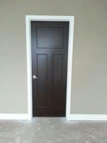 love my interior doors sherwin williams black bean my