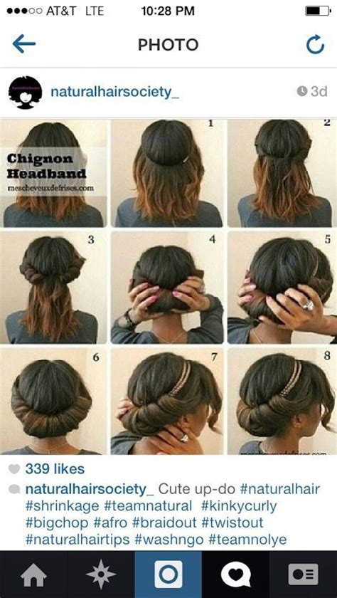 simple hairstyles for relaxed hair pinterest the world s catalog of ideas