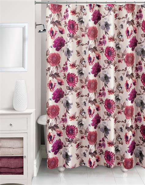 floral shower curtain floral shower curtain kmart com