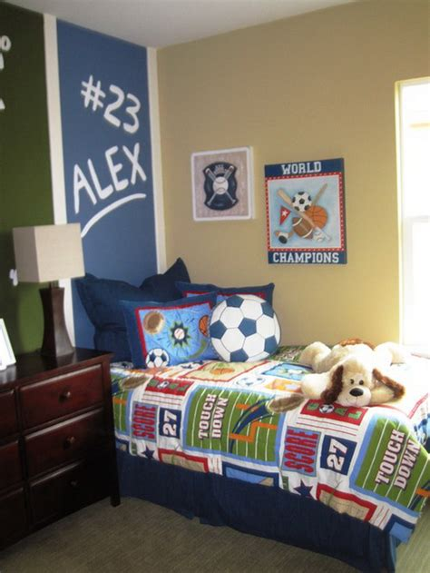 sports themed boys room 30 cool boys bedroom ideas of design pictures hative