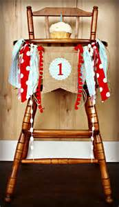 birthday age high chair highchair birthday banner