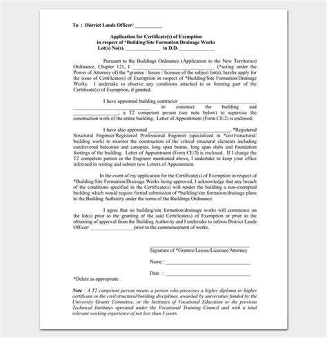 Appointment Letter Construction contractor appointment letter 6 sles in word pdf