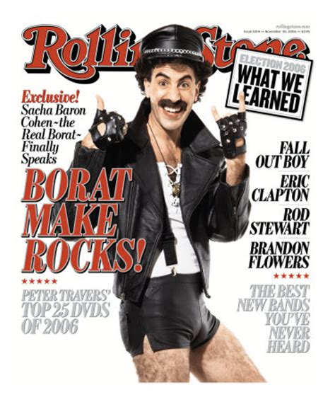 sacha baron cohen rolling stone chatter busy sacha baron cohen quotes