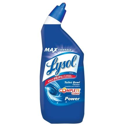 lysol complete clean liquid toilet bowl cleaner 24 oz
