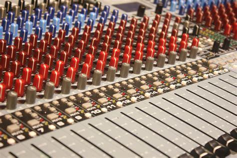 stock photo  audio business computer