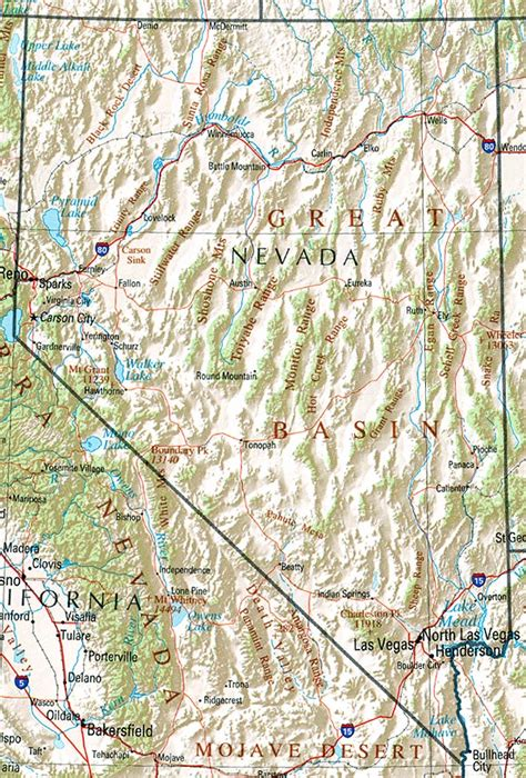 can you show me a map of the united states can you show me a map of nevada