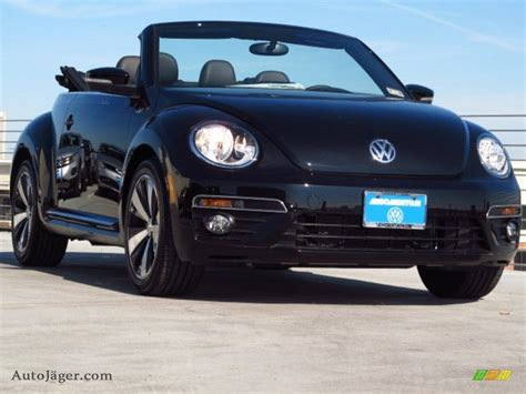 volkswagen convertible black 2014 volkswagen beetle r line convertible in deep black