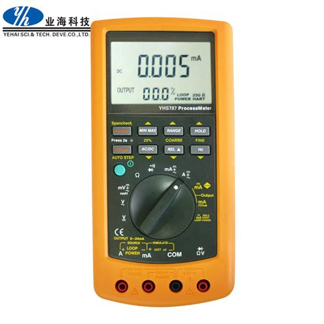 Multimeter Fluke 789 china equivalent to fluke 787 and fluke 789 processmeter