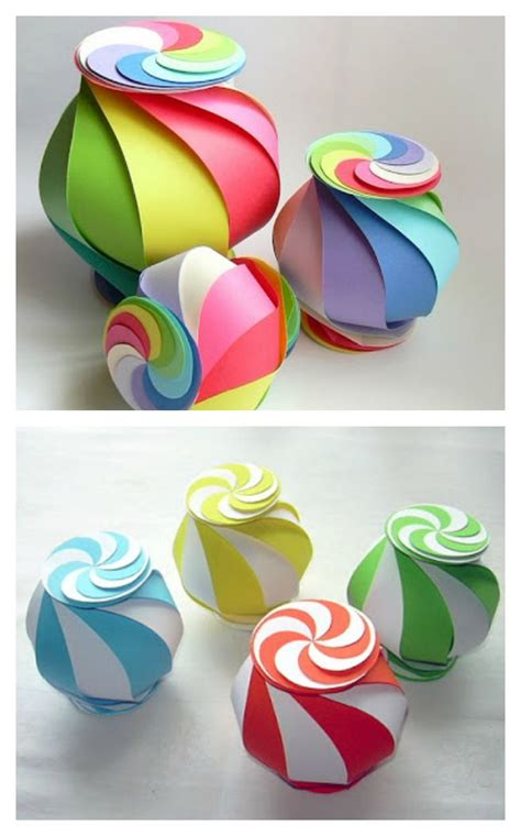 Craft With Paper - 10 sided yin yang globe paper craft work
