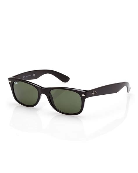 Rb Wayfarer Atlanta 1 lyst ban rb2132 black tinted wayfarer sunglasses in black for