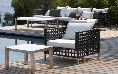 rattan patio furniture outdoor lounger loungers