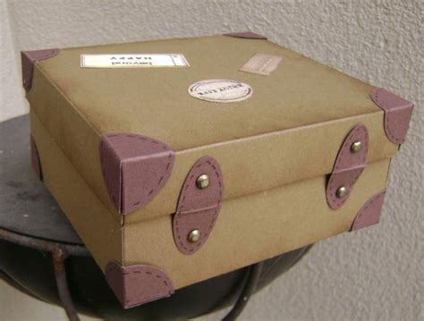 How To Make A Suitcase Out Of Paper - suitcase box back view by kiwi jules cards and paper