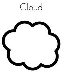 free printable cloud coloring pages kids az dibujos colorear